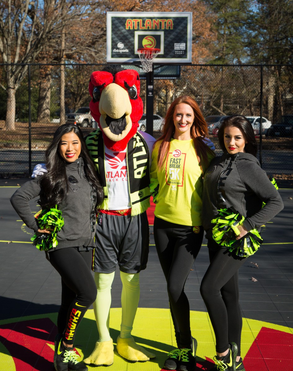 ATLANTA HAWKS AND ATLANTA TRACK CLUB LAUNCH THE FOURTH-ANNUAL ATLANTA HAWKS FAST BREAK 5K PRESENTED BY SHARECARE ON SATURDAY, JAN. 27