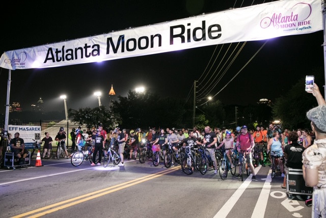 7th Annual Atlanta Moon Ride Was A Glowing Success
