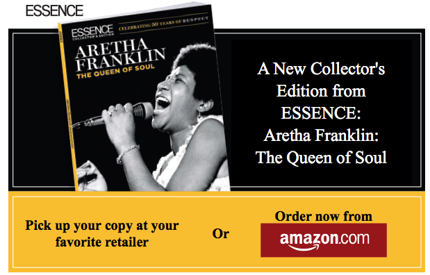 Aretha Franklin The Queen of Soul on the cover of Essence Magazine