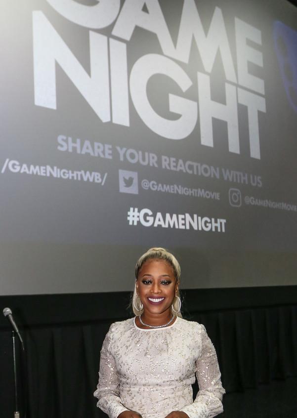Trina hosts Game Night