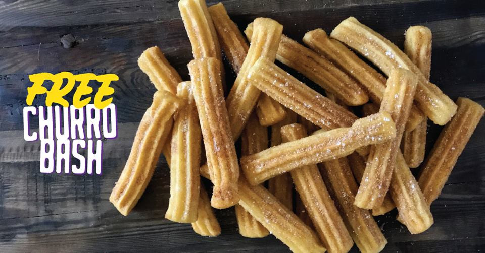 Sunday's Biggest Win is Free Churros
