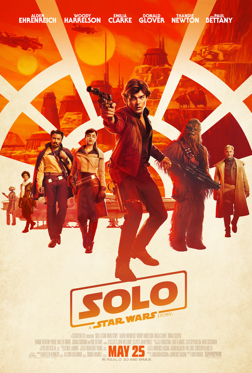 "New Trailer & Art for ""SOLO: A Star Wars Story"""