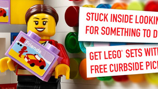 Enjoy Curbside Pickup at LEGOLAND Discovery Center Atlanta