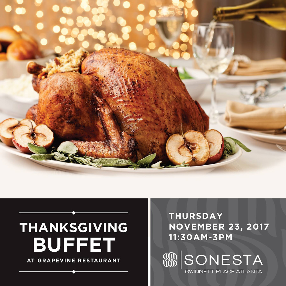 Thanksgiving Feast at Sonesta Gwinnett Place