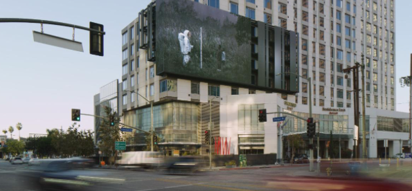 LA Gallery Embraces Drive by Public Art Space Platform to Exhibit Latest Work by Micah Johnson