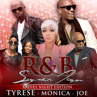 R&B SUPERJAM FEATURING TYRESE, MONICA, JOE, TOTAL AND DONELL JONES COMING TO PHILIPS ARENA ON SA