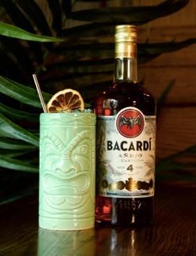 Toast to Tasty Tiki Cocktails & Tropical Vibes With BACARDÍ Tiki Rumba This Fall