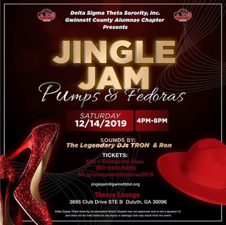 Jingle Jam: Pumps & Fedoras