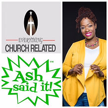 Ash Said it featured on Everything Church related