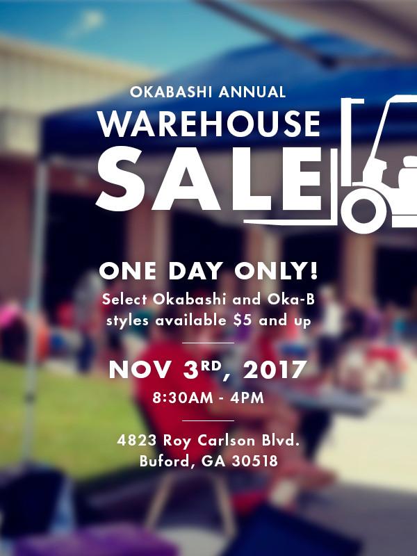 Oka-B Shoes Warehouse Sale
