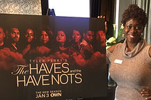 Ash Said It CEO attends Own Tv's Press Screening of Tyler Perry's the Haves and the HaveNots
