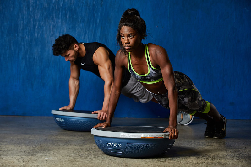 BOSU® Balance Trainer and Fitbod team up to energize home workouts