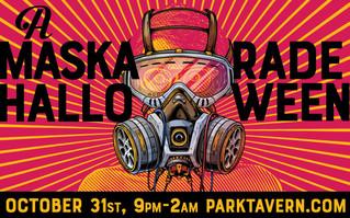 Have A Spooktacular Halloween At Park Tavern's Maskarade Party