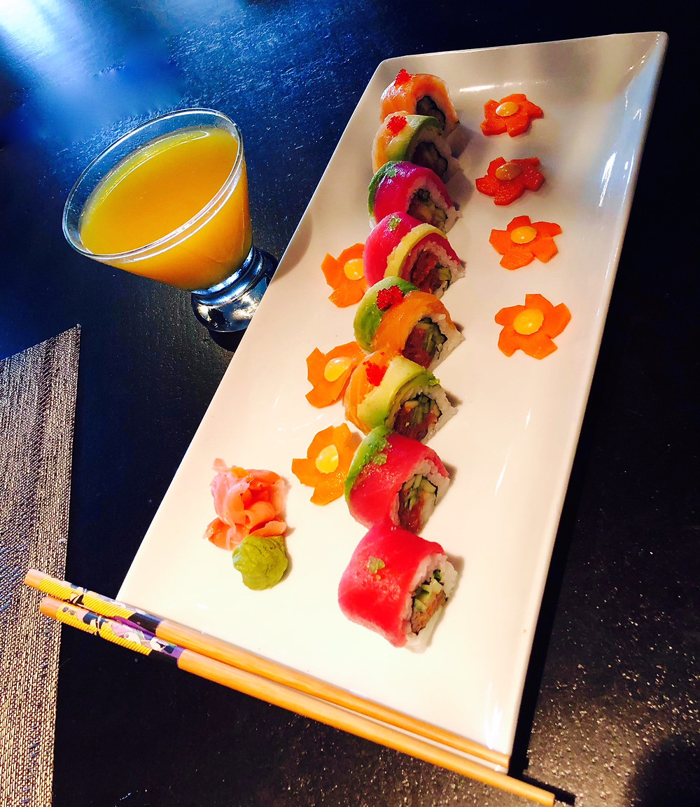 Roll With ROOM DOWNTOWN for Sushi & Martini Day