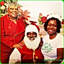 Ash Said It with The Real Black Santa