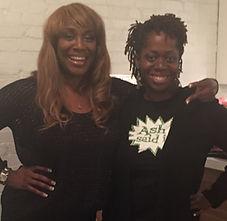 Ash Brown Meets B Angie B