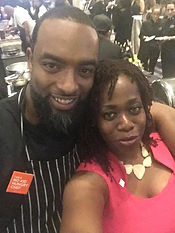 Ash Said it meets Chef Scotley Innis of 5 Church Atlanta at Taste of the Nation 2018