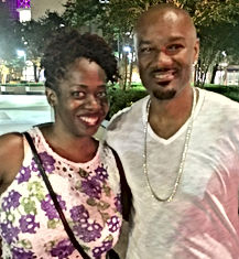 Ash Said it founder Ash Brown with Big Tigger Show Essence Fest 2017