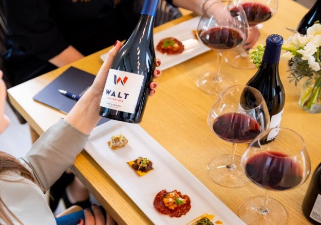 NAPA'S NEWEST TASTING ROOM, WALT NAPA OXBOW, LAUNCHES FRESH, FOCUSED FOOD AND WINE PAIRING EXPERIENCE
