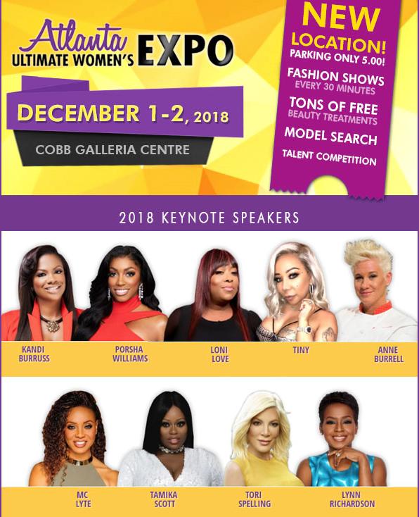 Comp Tix to Women's Expo Dec 1-2