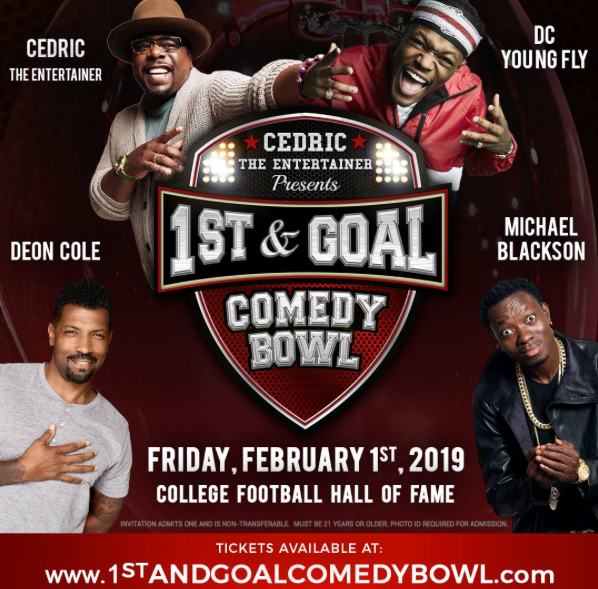 Cedric The Entertainer Presents 1st & Goal Comedy Bowl