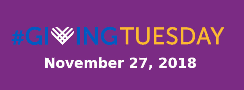 #GivingTuesday is November 27