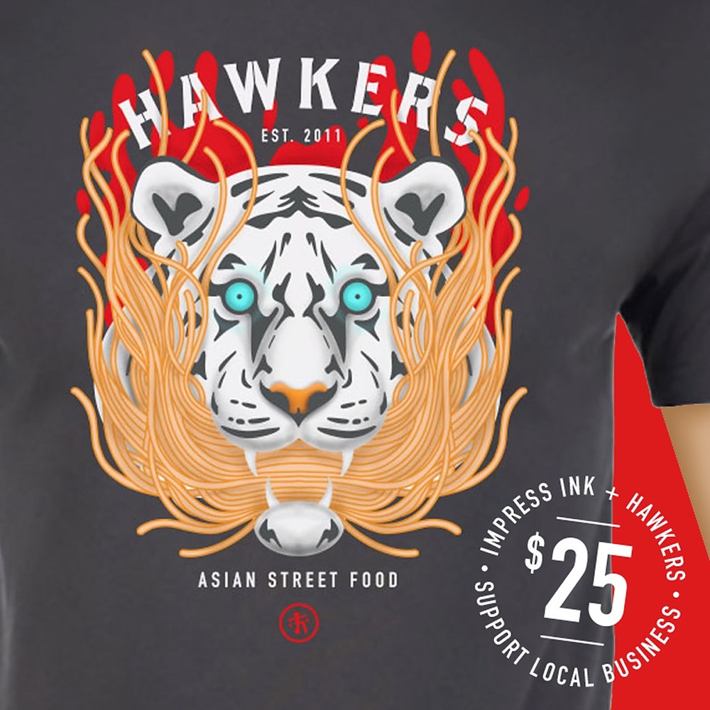 Exclusive Hawkers Shirt Supports Employees
