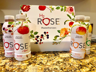 ***PRODUCT REVIEW: H2 ROSE WATER