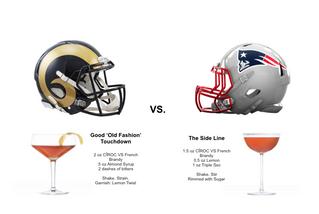 ***Super Bowl LIII Cocktail Recipes