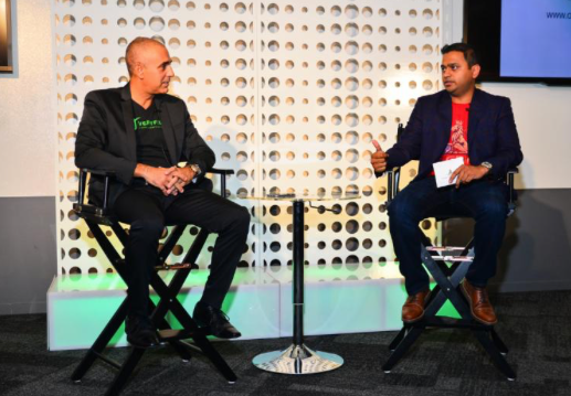 """TYLER PERRY STUDIOS PRESIDENT OZZIE AREU OFFERS VALUABLE BUSINESS INSIGHTS DURING """"ON THE GRIND WITH CHIRAG PATEL"""" PODCAST"""