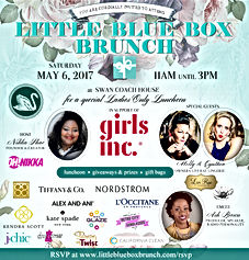 Ash Brown hosts Little Blue Box Brunch