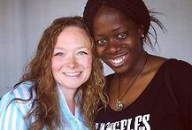 Ash Said It CEO Ash Brown meets actor Laura Mae Poore