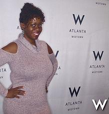 Ash Brown Ash Said it visits The W Midtown Atlanta