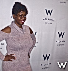Ash Brown Ash Said it visits The W Midtown Atlanta