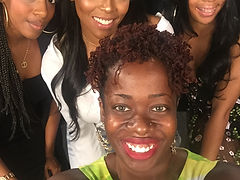 Ash Said it founder Ash Brown with Step Movie Essence Festival