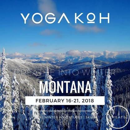 Introducing YogaKoh & Snowy Montana Retreat Valentine's Day Weekend