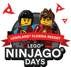 Be the Ninja at LEGO NINJAGO Days at LEGOLAND Florida Resort