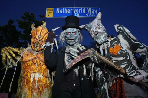 NETHERWORLD Haunted House Takes Over Stone Mountain At 1313 Netherworld Way