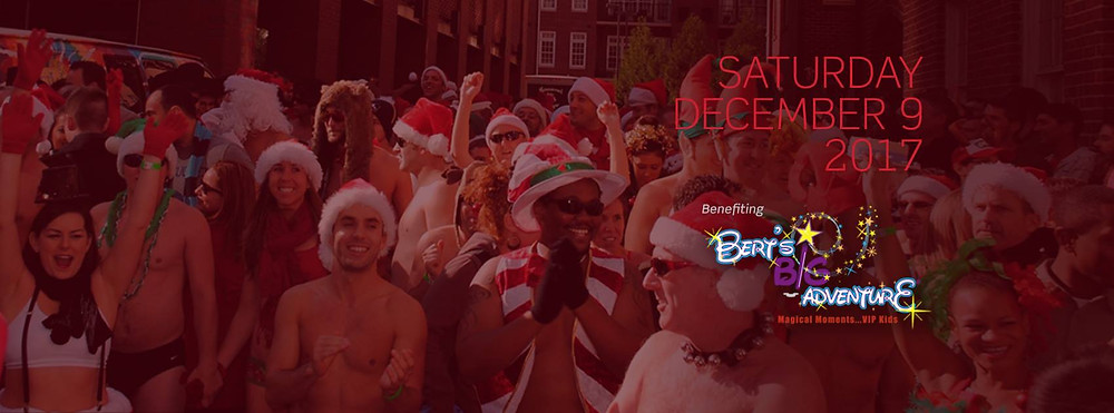 Bert's Big Adventure Announced as Beneficiary for 2017 Atlanta Santa Speedo Run