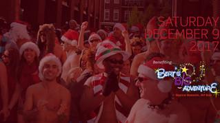 Bert's Big Adventure Announced as Beneficiary for 2017 Atlanta Santa Speedo Run