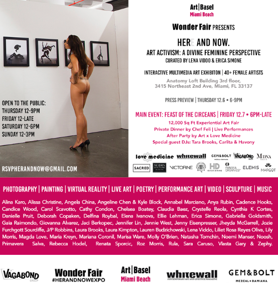 HERE AND NOW: WONDER FAIR'S CONVENTION-DEFYING ALL-FEMALE MULTIMEDIA ART FAIR DEBUTS AT ART BASEL MIAMI 2018