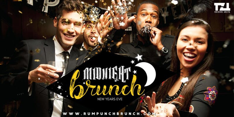 The Rum Punch Brunch: Midnight Brunch - New Years Eve