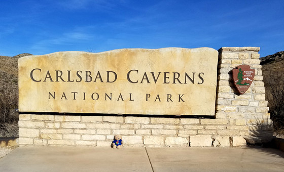 "#14 Carlsbad Cavern National Park, NM        ""Be Strong & Courageous"""