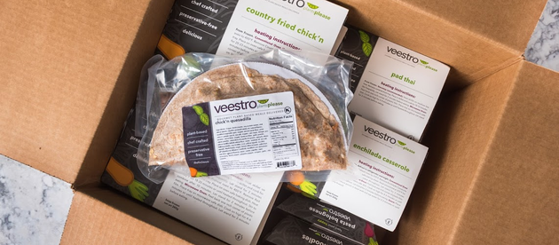 Vegan Feature: Veestro Plant-Based Meal Delivery