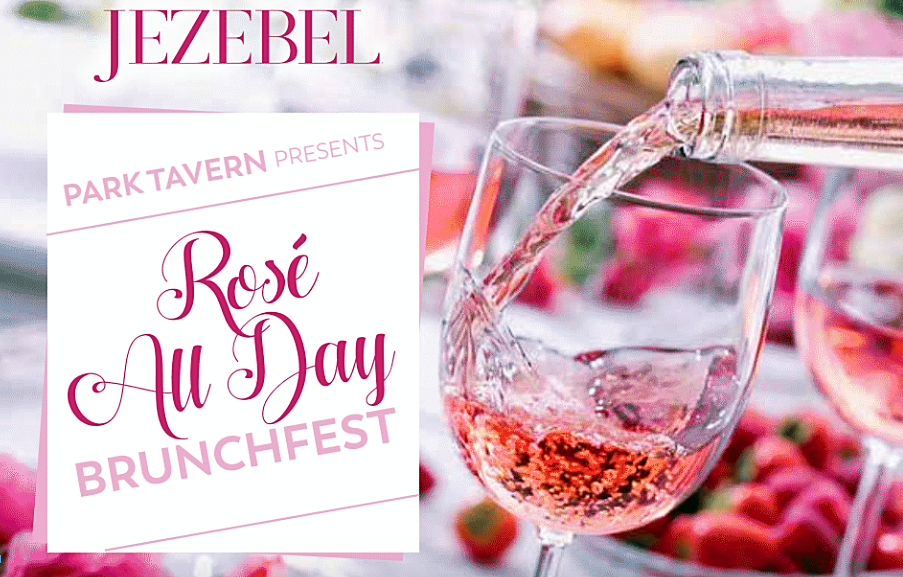Namaste & Rosé All Day at Park Tavern This Sunday