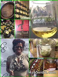 Ash Brown attends Chateau Elan Event