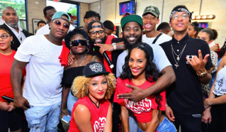"""COMEDIANS AND FANS TURNED OUT IN DROVES FOR THE """"WILD 'N OUT: LIVE FROM THE BARBERSHOP&quot"""