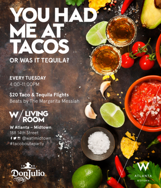 You Had Me At Tacos... Or Was It Tequila? Tuesday Tacos and Tequila!