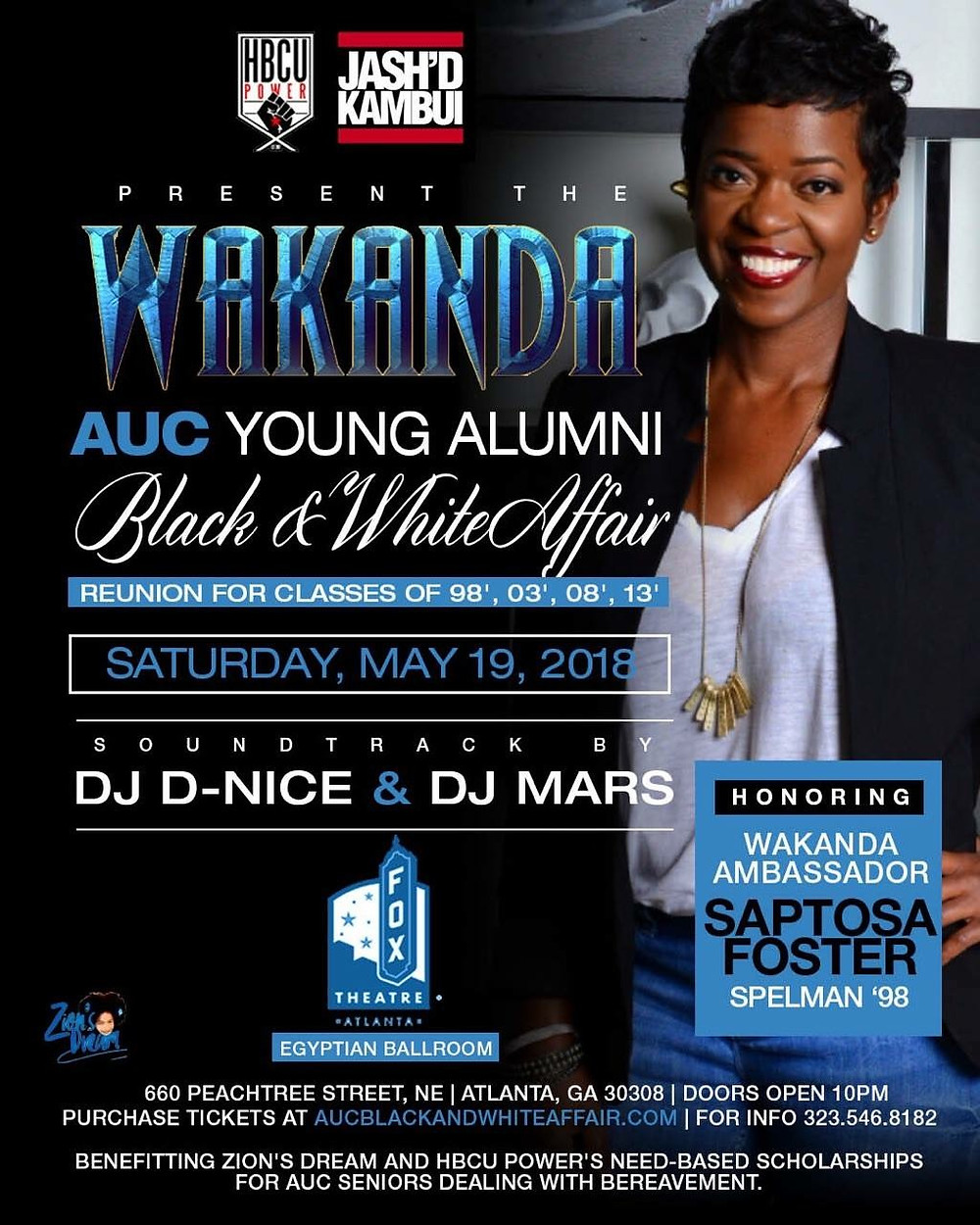 Join Us Reunion Weekend for the AUC Young Alumni Black & White Affair - May 19