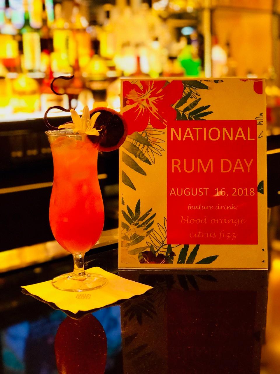 Sonesta Gwinnett Place Atlanta Celebrates National Rum Day